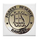 U.S. Forest Ranger Tile Coaster
