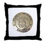 U.S. Forest Ranger Throw Pillow