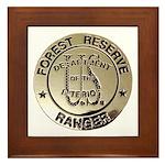 U.S. Forest Ranger Framed Tile