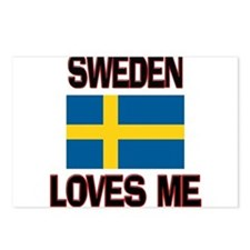 Sweden Loves Me Postcards (Package of 8)