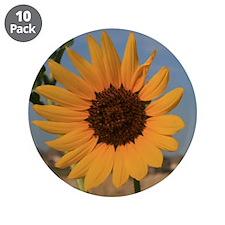 """3.5"""" Sunflower Button (10 pack)"""
