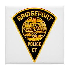 Bridgeport Police Tile Coaster