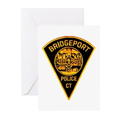 Bridgeport Police Greeting Cards (Pk of 20)