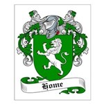 Home Family Crest Small Poster