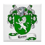 Home Family Crest Tile Coaster