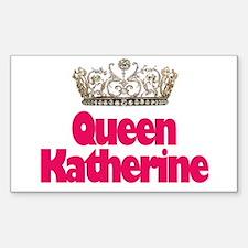 Queen Katherine Rectangle Decal