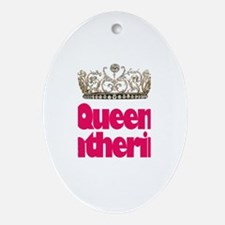 Queen Katherine Oval Ornament