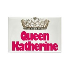 Queen Katherine Rectangle Magnet