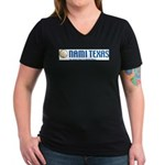 NAMI Texas Women's V-Neck Dark T-Shirt