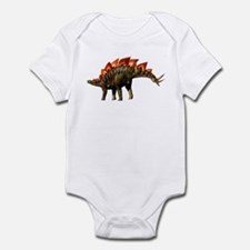 Stegosaurus Jurassic Dinosaur Infant Bodysuit
