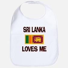 Sri Lanka Loves Me Bib