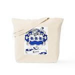 Horn Family Crest Tote Bag
