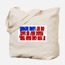 If you can read this Lawn Mower Tote Bag