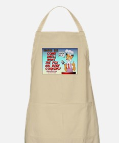 Come Smell What Fox Been Cooking (Nimrod)BBQ Apron