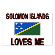 Solomon Islands Loves Me Postcards (Package of 8)