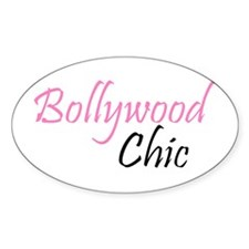 Bollywood Chic Oval Decal