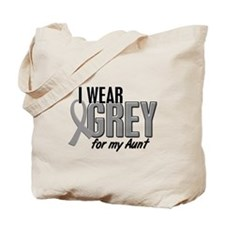 I Wear Grey For My Aunt 10 Tote Bag