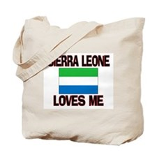 Sierra Leone Loves Me Tote Bag
