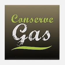 Conserve Gas Tile Coaster