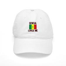 Senegal Loves Me Baseball Cap