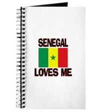 Senegal Loves Me Journal