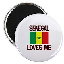 Senegal Loves Me Magnet