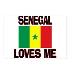 Senegal Loves Me Postcards (Package of 8)