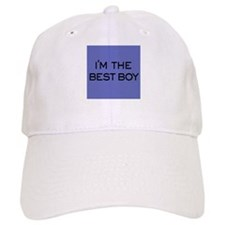 I'M THE BEST BOY Baseball Baseball Cap