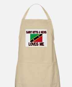 Saint Kitts & Nevis Loves Me BBQ Apron