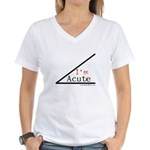 I'm a cutie - Women's V-Neck T-Shirt