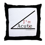 I'm a cutie - Throw Pillow
