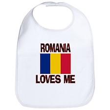 Romania Loves Me Bib