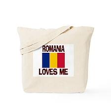 Romania Loves Me Tote Bag