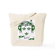 Irvine Family Crest Tote Bag