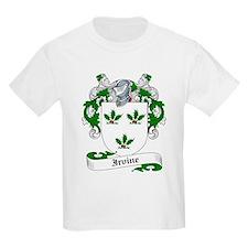 Irvine Family Crest Kids T-Shirt