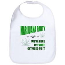 Marijuana Party Bib