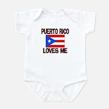 Puerto Rico Loves Me Infant Bodysuit