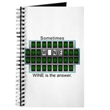 Sometimes Wine is the Answer Journal
