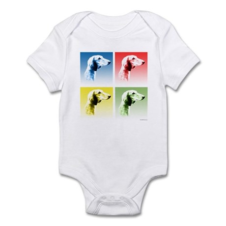Saluki Pop Infant Bodysuit