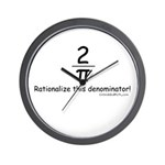 Rationalize This - Wall Clock