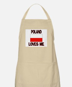 Poland Loves Me BBQ Apron