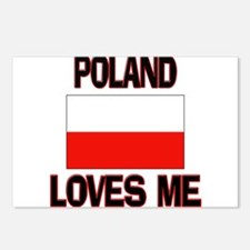 Poland Loves Me Postcards (Package of 8)