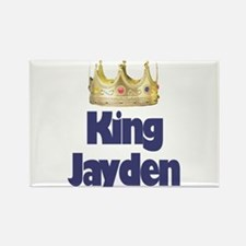 King Jayden Rectangle Magnet