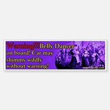 Tribal American Belly Dance Bumper Bumper Bumper Sticker