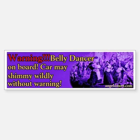 Tribal American Belly Dance Bumper Bumper Bumper Sticker