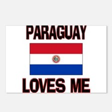 Paraguay Loves Me Postcards (Package of 8)