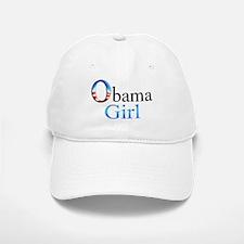 Obama Girl Baseball Baseball Cap