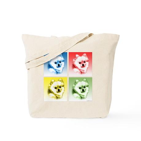 Pomeranian Pop Tote Bag