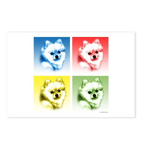 Pomeranian Pop Postcards (Package of 8)