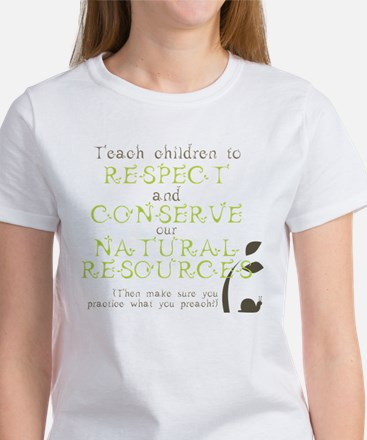 Nature Conservation Women's T-Shirt